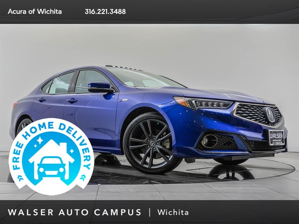Pre-Owned 2018 Acura TLX Technology & A-Spec Packages
