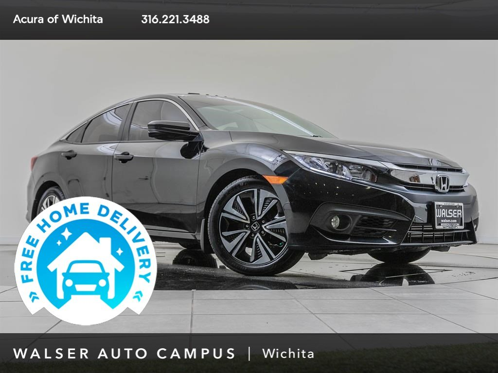 Pre-Owned 2017 Honda Civic Sedan EXT