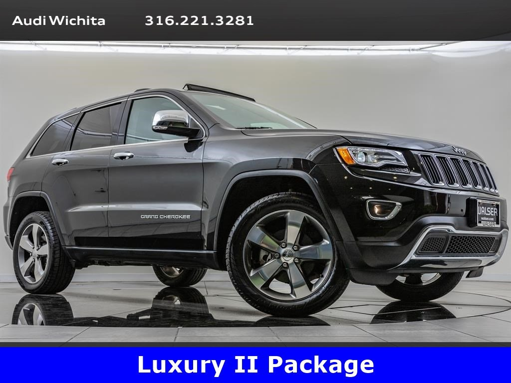 Pre-Owned 2016 Jeep Grand Cherokee Limited, Luxury Group II Package