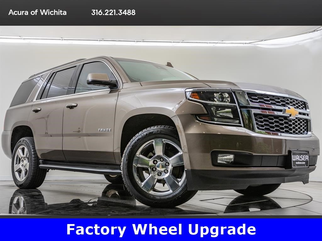 Pre-Owned 2016 Chevrolet Tahoe LT, Factory Wheel Upgrade, Luxury Package