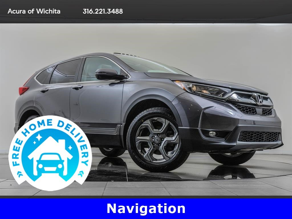 Pre-Owned 2017 Honda CR-V Navigation