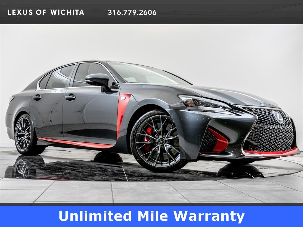 Pre-Owned 2017 Lexus GS F 467HP, Navigation, 19-inch Wheels