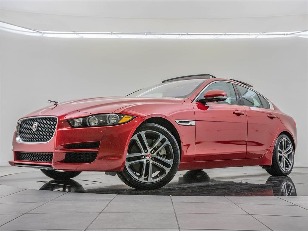 jaguar xe owned pre moonroof 35t premium