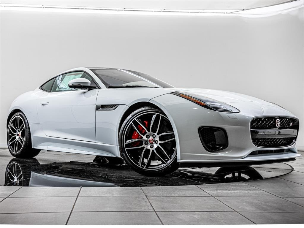 New 2020 Jaguar F Type P380 V6 Checkered Flag With Navigation Awd