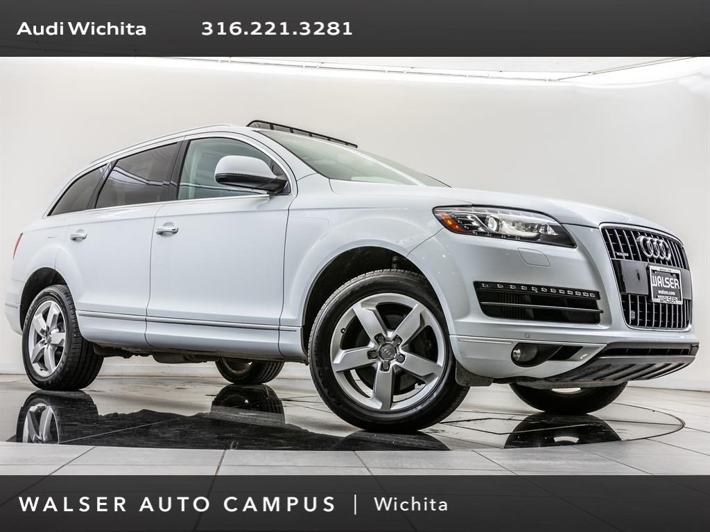 Pre-Owned 2013 Audi Q7 TDI Premium Plus quattro, Navigation, Pano Roof