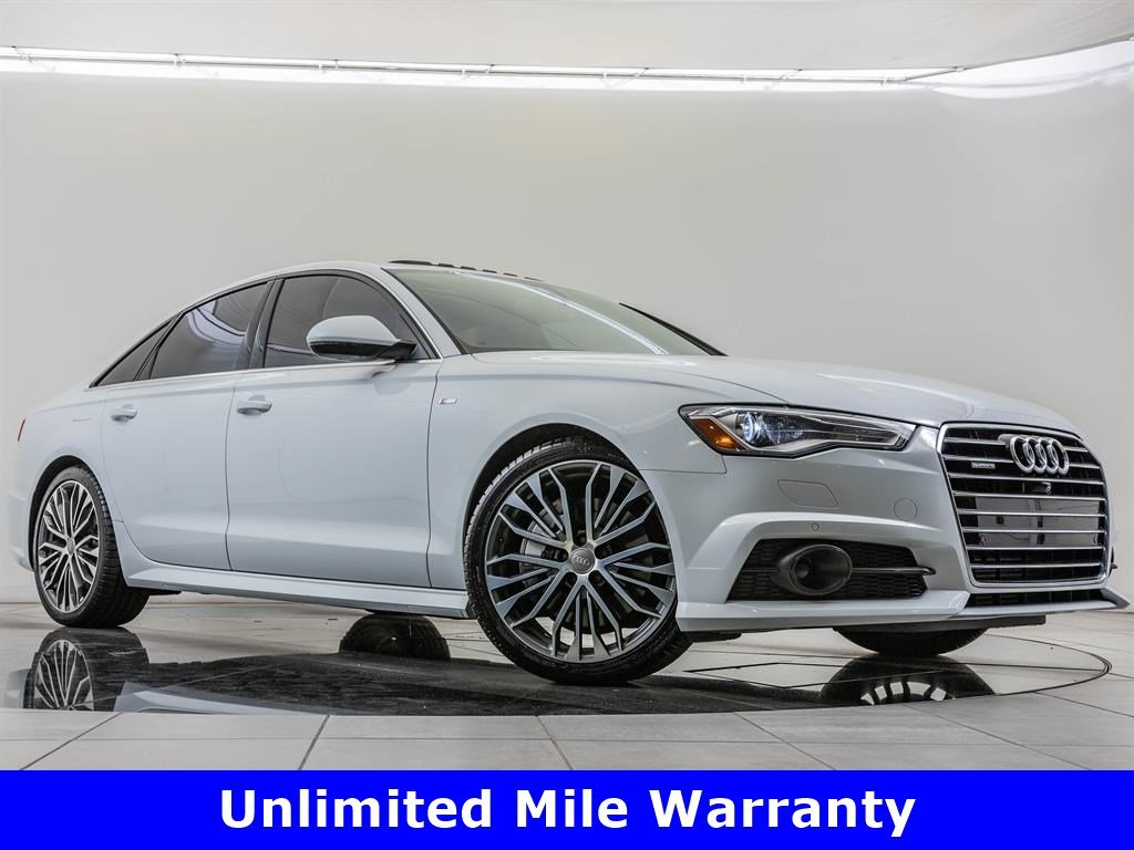 Pre-Owned 2017 Audi A6 2.0T Prem Plus quattro, Upgraded 20-Inch Wheels