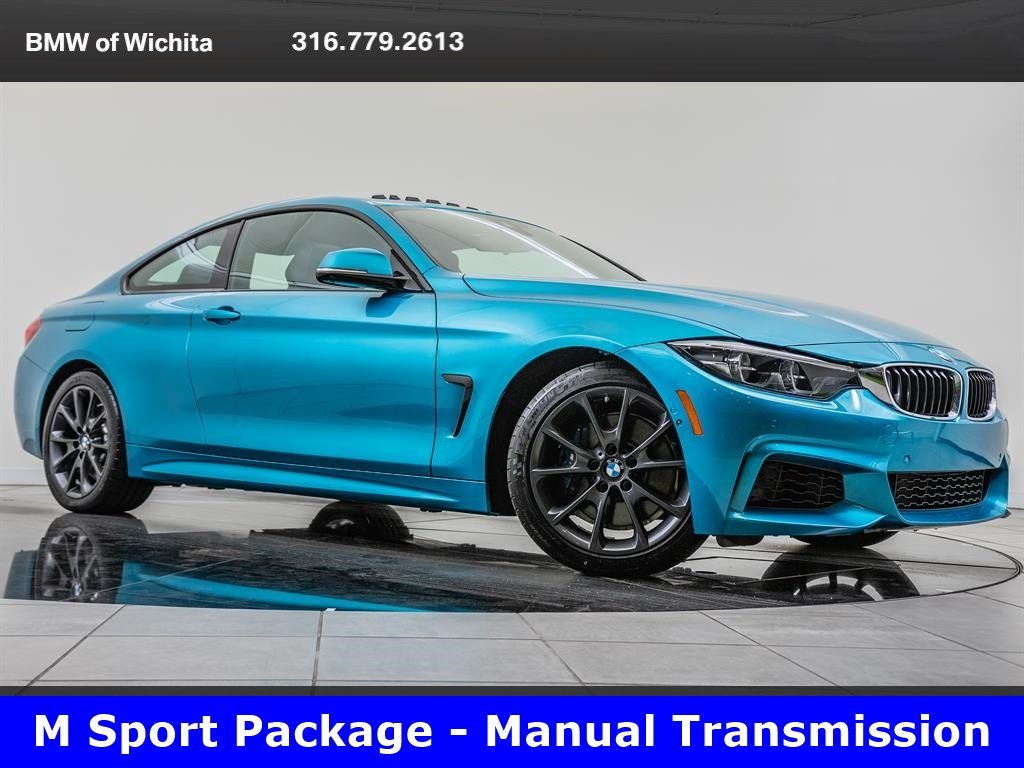 Pre-Owned 2018 BMW 4 Series 430i, M Sport, Track Handling Pkg, Manual Trans