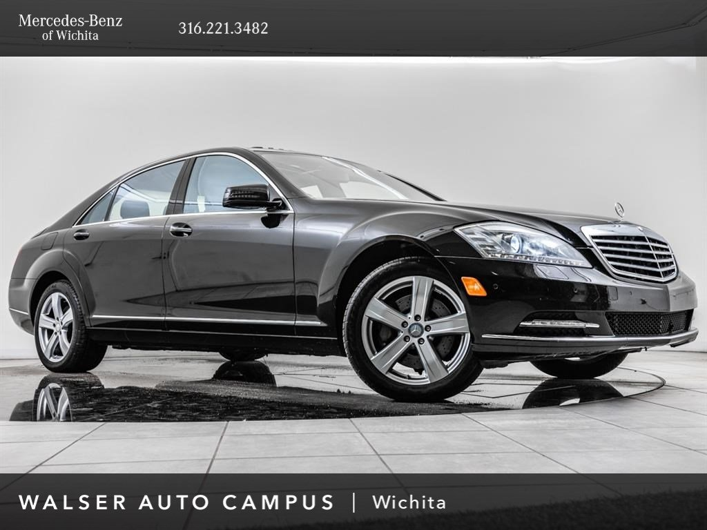 Pre-Owned 2013 Mercedes-Benz S-Class S550 4MATIC®, Exceptional Maintenance History