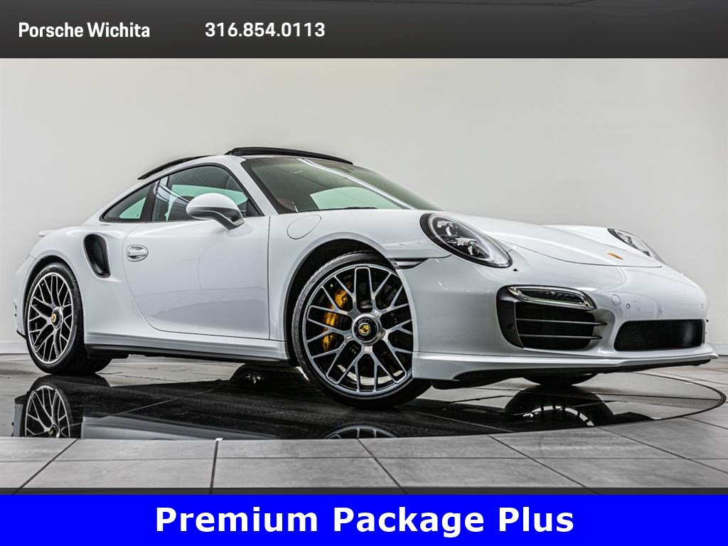 Pre-Owned 2016 Porsche 911 Turbo S, Premium Package Plus