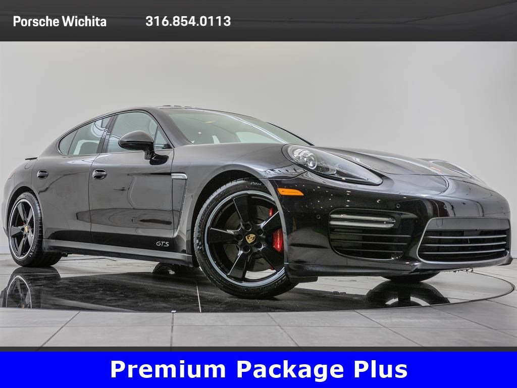 Pre-Owned 2016 Porsche Panamera GTS, Premium Package Plus, Factory Wheel Upgrade