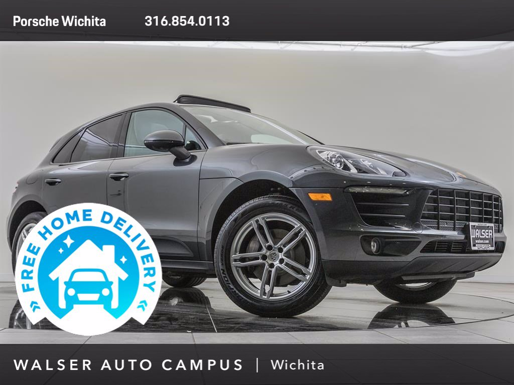 Pre-Owned 2017 Porsche Macan Factory Wheel Upgrade, Navigation, Premium Plus