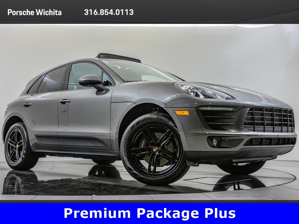 Pre-Owned 2018 Porsche Macan Premium Package Plus, Factory Wheel Upgrade