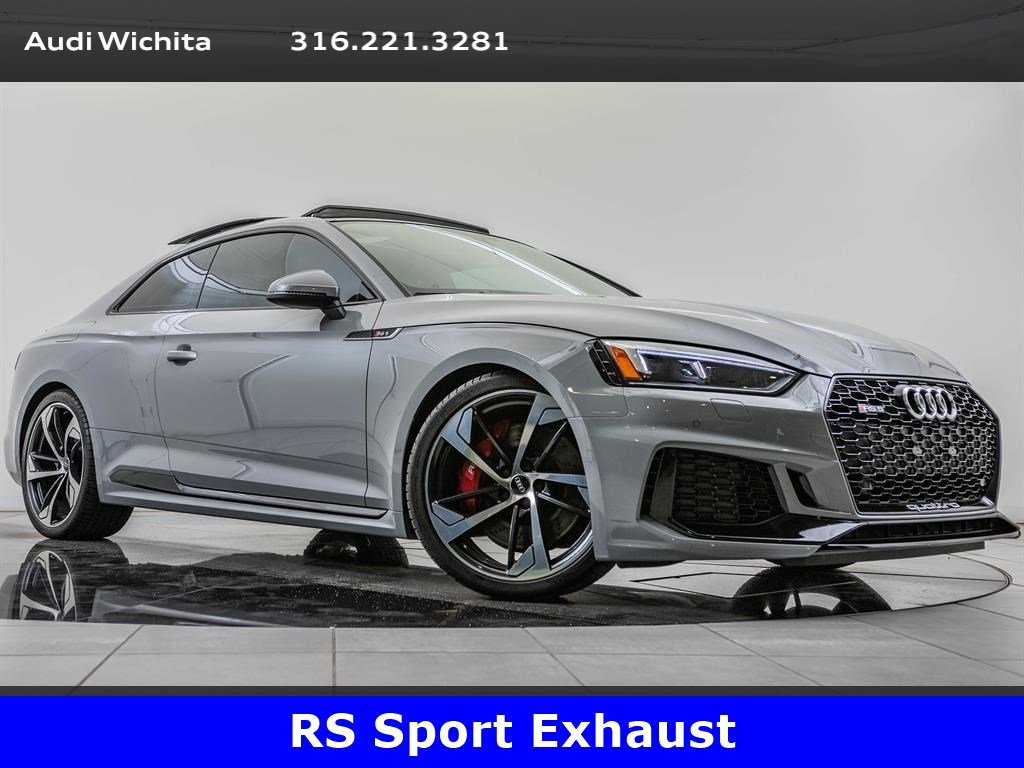 Pre-Owned 2018 Audi RS 5 Coupe quattro, Black Optic Package, Dynamic Package
