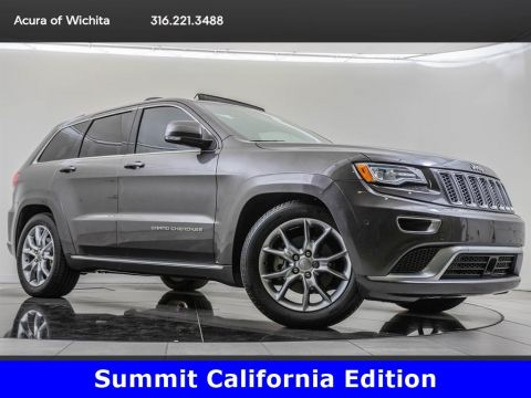 Pre-Owned 2015 Jeep Grand Cherokee Summit, 5.7-Liter Hemi