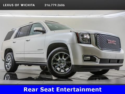 Pre-Owned 2015 GMC Yukon Denali, Factory Wheel Upgrade, Premium Package