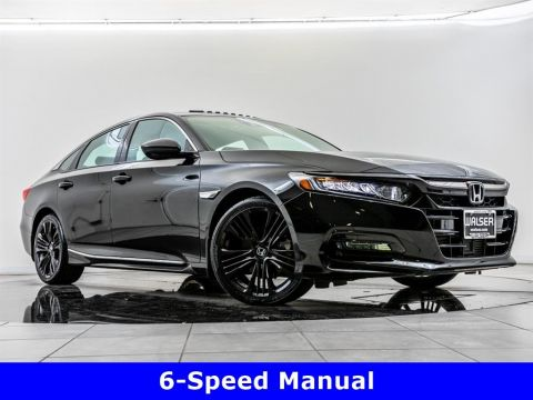 Pre-Owned 2018 Honda Accord Sedan Sport, Manual