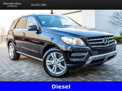 Pre-Owned 2015 Mercedes-Benz M-Class ML 250 BlueTEC 4MATIC®, Diesel