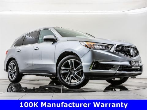 Pre-Owned 2017 Acura MDX SH-AWD w/Advance Pkg, 100K Manufacturer Warranty