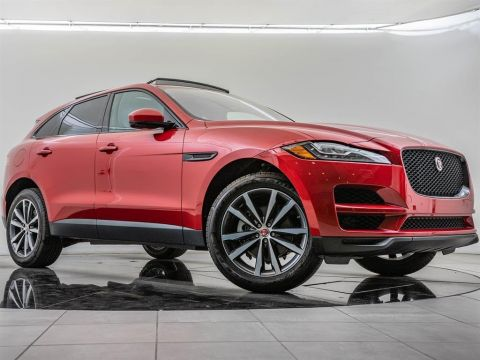 Certified Pre-Owned 2018 Jaguar F-PACE 25t Prestige, Black Package