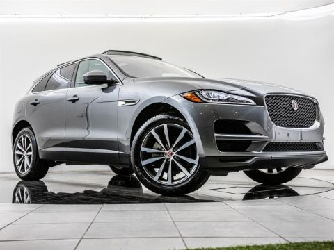 Certified Pre-Owned 2018 Jaguar F-PACE 25t Prestige, 20-inch Wheels, AWD