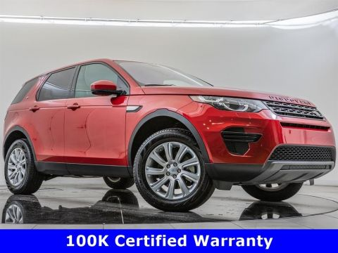 Certified Pre-Owned 2018 Land Rover Discovery Sport SE, 100K Certified Warranty