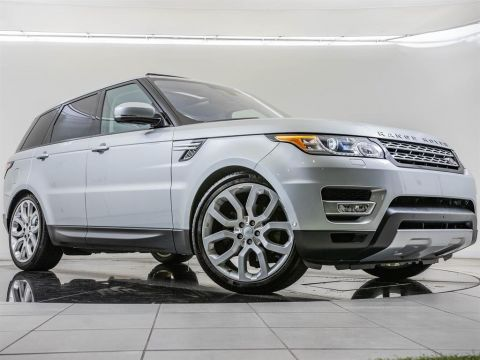 Certified Pre-Owned 2016 Land Rover Range Rover Sport HSE, 1-Owner, 22-inch Wheels
