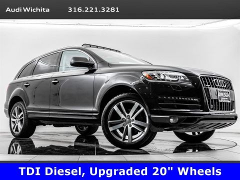 Pre-Owned 2014 Audi Q7 TDI Premium Plus quattro, Navigation, Heated Seats