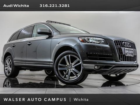 Pre-Owned 2015 Audi Q7 TDI Premium Plus quattro, 20 Wheels, BOSE, RV Cam