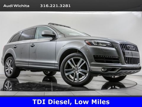 Pre-Owned 2015 Audi Q7 TDI Premium Plus quattro, Low Miles