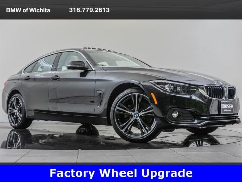 Pre-Owned 2019 BMW 4 Series 430i xDrive, Factory Wheel Upgrade