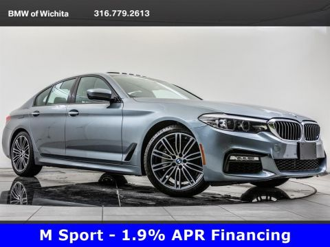 Pre-Owned 2018 BMW 5 Series 540i, M Sport, 19-Inch M Wheels