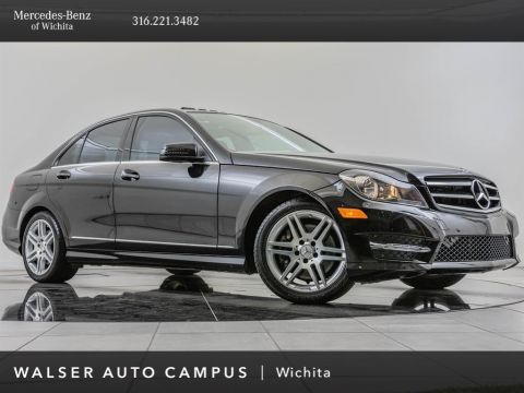 Pre-Owned 2014 Mercedes-Benz C-Class C300 Sport 4MATIC, AMG® Sportline