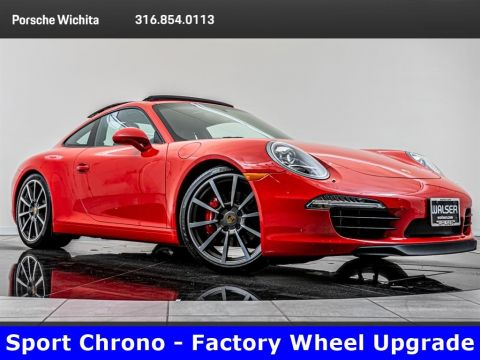 Pre-Owned 2015 Porsche 911 Carrera S, Sport Chrono, Factory Wheel Upgrade
