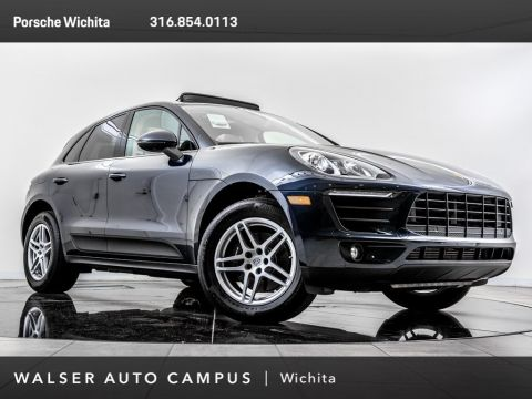 Pre-Owned 2017 Porsche Macan Porsche Approved Certified, Panoramic Roof